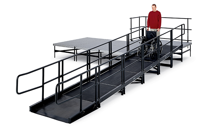 ADA stage ramp