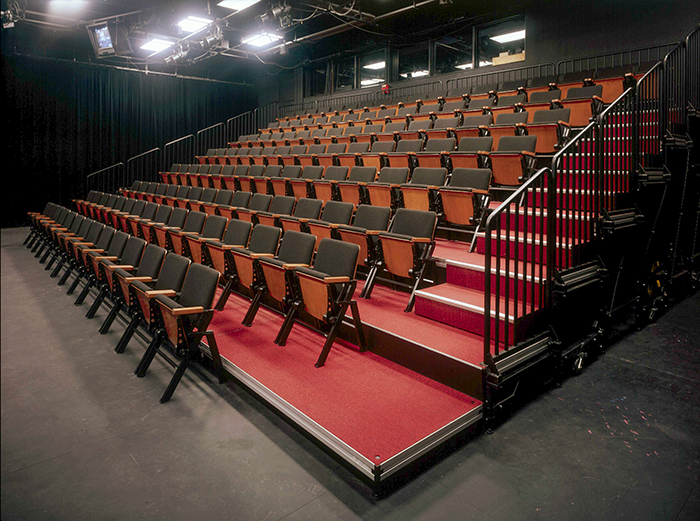 Black Box Theater Seating Risers