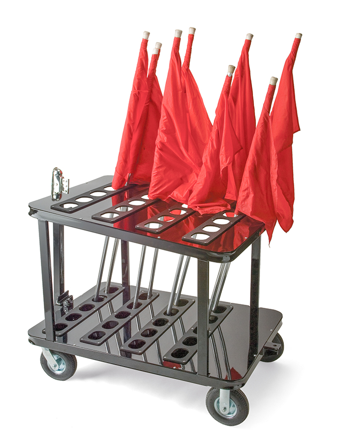 Marching Band Flag Cart