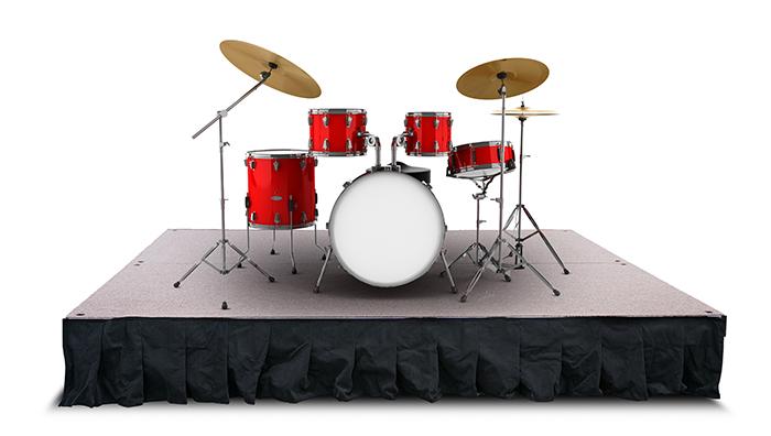 portable drum riser