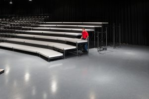 audience seating riser