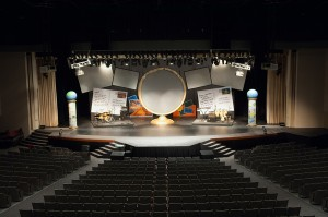 church stage extension