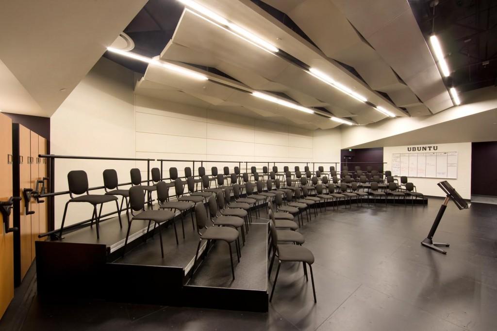classroom risers