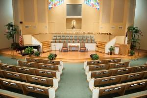 church choir risers