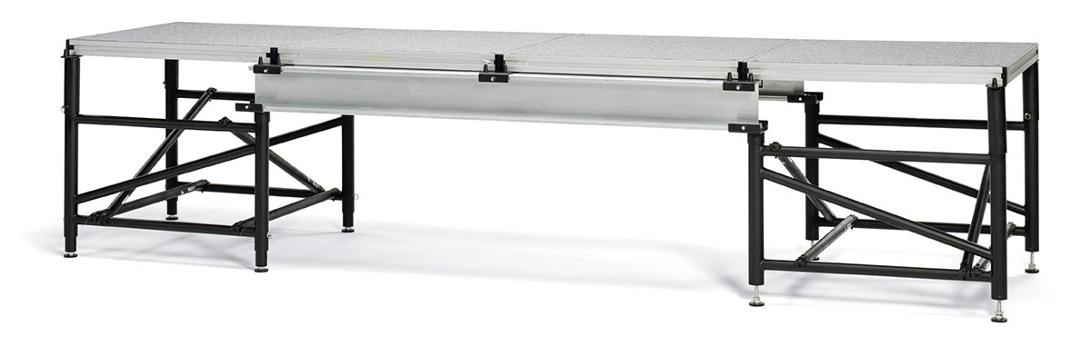 I-Beam Portable Stage Support