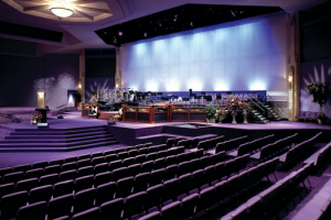church stage riser