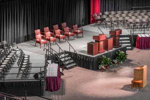 stage for graduation