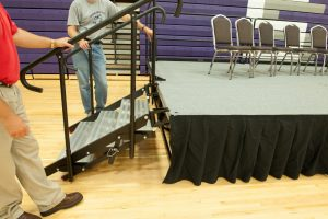 stageright portable stage stairs