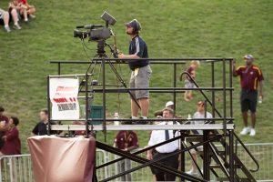 elevated camera platform