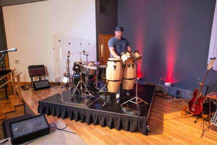 percussion platform