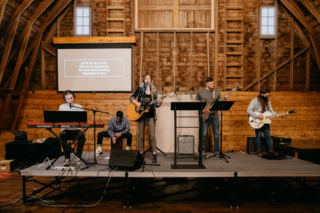 church portable stage