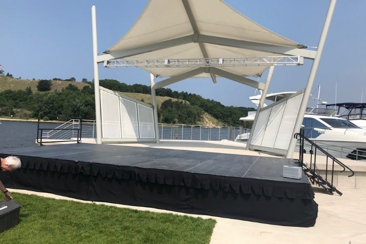 outdoor portable stage
